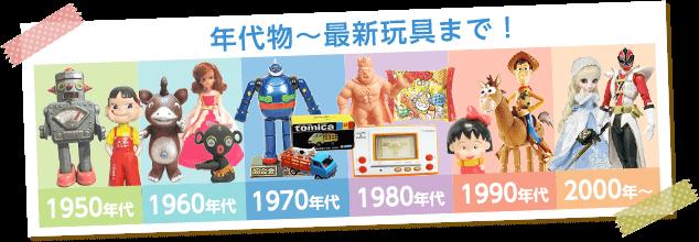 昭和レトロなブリキ・超合金・ソフビ・ノベルティグッズ・フィギュア・プラモデル・ドール・ミニカー・鉄道模型を高価買取