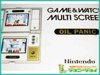 ゲームウォッチ,GAME&WATCH,マルチスクリーン,オイルパニック,Nintendo,ニンテンドー,任天堂,LSI,LCD,買取,売る,