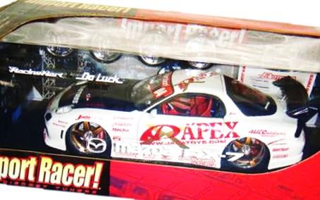 JadaToys 1/18 MAZDA RX-7 買取,ジェイダトイズ JadaToys 1/18 MAZDA RX-7 ミニカー 買取,マツダ RX-7 ミニカー買取,おもちゃ 買取,フィギュア 買取,