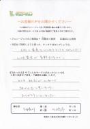 お客様の声2015-2 アンケート2015-2