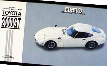 エブロ プレミアム コレクション 1/24 トヨタ2000GT 買取,EBBRO エブロ プレミアム コレクション 1/24 ミニカー 買取,トヨタ2000GT ミニカー 買取,おもちゃ 買取,フィギュア 買取,