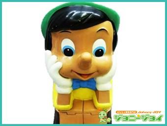 銀行,貯金箱,三菱銀行,ピノキオ,ディズニー,ソフビ,買取,売る,