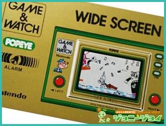 ゲームウォッチ,GAME&WATCH,ポパイ,POPEYE,Nintendo,ニンテンドー,任天堂,買取,売る,