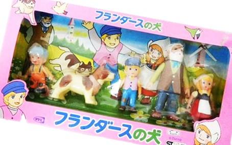 タケミ フランダースの犬 ソフビセット買取,タケミ ソフビ 買取,おもちゃ 買取,フィギュア 買取,パトラッシュ ソフビ 買取,