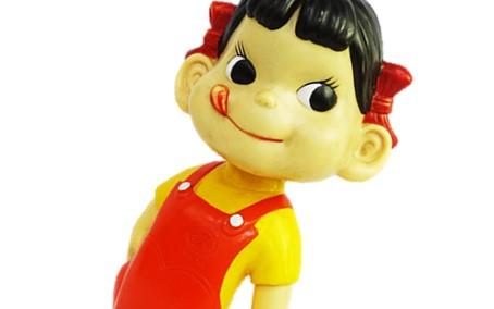 ペコちゃん 首振り人形  約45cm ブリキ台買取,ペコちゃん 首振り人形  買取,ハイカップ ペコちゃん買取,おもちゃ買取,フィギュア買取,