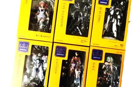 レガシー・オブ・リボルテック 6点セット クイーンズブレイド 海洋堂 買取,クイーンズブレイド フィギュア買取,おもちゃ 買取,フィギュア買取,海洋堂 美少女フィギュア買取,