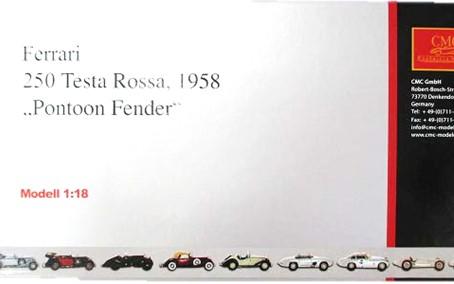 CMC 1/18 フェラーリ 250 テスタロッサ ポンツーンフェンダー 買取,CMC 1/18 ミニカー 買取,フェラーリ 250 テスタロッサ ミニカー 買取,おもちゃ 買取,フィギュア 買取,