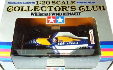 タミヤ 1/20 コレクターズクラブ ウイリアムズ FW14B ルノー 買取,タミヤ 1/20 コレクターズクラブ 買取,ウイリアムズ FW14B ルノー ミニカー 買取,おもちゃ 買取,フィギュア 買取,