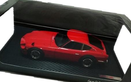 イグニッションモデル 1/18 日産 フェアレディZ S30 赤 買取,イグニッションモデル 1/18 ミニカー 買取,日産 フェアレディZ S30 買取,おもちゃ 買取,フィギュア 買取,