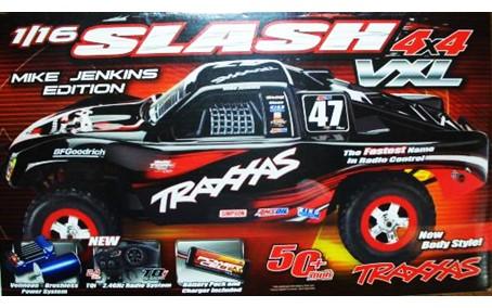 トラクサス 1/16 スラッシュ 4×4 VXL買取!