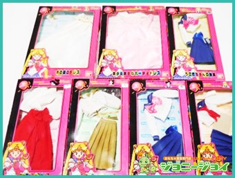 セーラームーン,美少女戦士,バンダイ,ドレス,月の国のドレス,美少女戦士なパーティドレス,うさぎちゃんの制服,買取,売る,