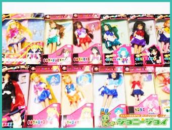 セーラームーンR,セーラームーンS,美少女戦士,バンダイ,ドール,人形,買取,売る,エクセレントドール,