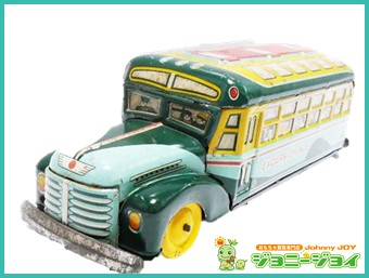 ボンネットバス,1950年代,塩路商店,ブリキ,買取,売る,ミニカー,