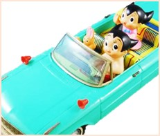 鉄腕アトム パレードカー ブリキ 浅草玩具