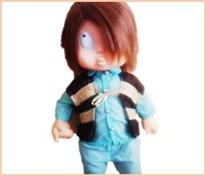 ゲゲゲの鬼太郎 うたうトーキング人形 シスコ