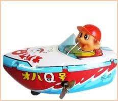 オバケのQ太郎 ボート ブリキ 中嶋製作所