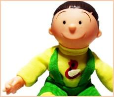 サザエさん おすわりわんぱくタラちゃん 旧タカラ ソフビ人形