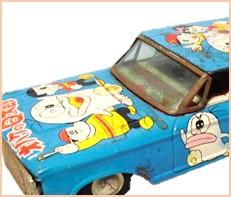 オバケのQ太郎 自動車 ブリキ タカトク