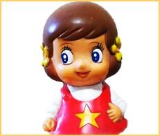 魔法使いチャッピー ソフビ人形 貯金箱