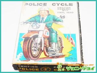 万盛玩具,HAJI,ブリキ,ポリス,バイク,POLICE,CYCLE,買取,売る,