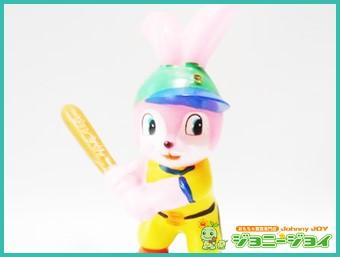 当時物 野球 ピョンちゃん ソフビ人形 買取!