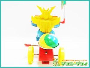 最強ロボ,ダイオージャ,三輪車,ゼンマイ,クローバー,買取,売る,
