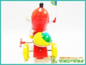 ロボットはっちゃん,三輪車,ロビン,ゼンマイ,ソフビ,ポピー,買取,売る,