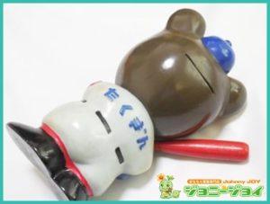 当時物,店頭用,24cm,野球,木製バット,たくちゃん,たくぎん,ソフビ,貯金箱,買取,売る,